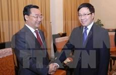 Le vice-PM Pham Binh Minh plaide pour les liens d'amitié Vietnam-Guangxi