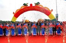 Mise en service d'un nouveau pont reliant Hanoi et Phu Tho