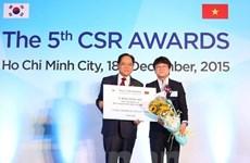Le Vietnam honore les entreprises sud-coréennes