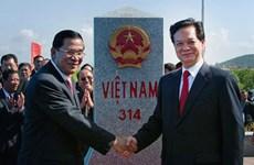 Vietnam-Cambodge : inauguration imminente des bornes frontalières N°30 et N°275