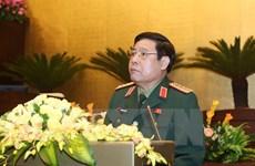 Une haute délégation militaire du Vietnam en visite au Laos