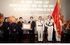 90e anniversaire de l'École des Beaux-arts du Vietnam