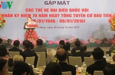 70 ans des élections législatives : rencontre avec d'anciens députés de Dà Nang