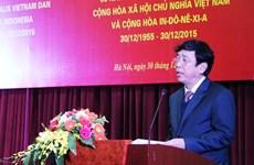 Célébration des 60 ans de l'établissement des relations diplomatiques Vietnam-Indonésie