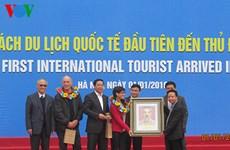 Afflux de touristes étrangers lors du premier jour de l'année