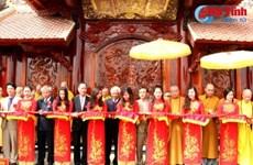 Inauguration de l'Institut du bouddhisme Truc Lam Dai Giac à Ha Tinh