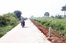 Thua Thien-Hue : 27-30 communes aux critères de la Nouvelle ruralité en 2016