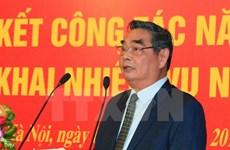 5e réunion de la sous-commission de l'organisation du 12e Congrès national du PCV