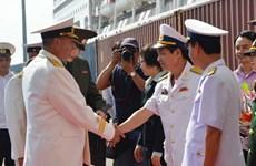 Trois navires de la Marine russe à Da Nang