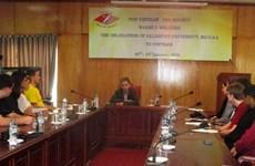 Une délégation d'étudiants américains en visite au Vietnam