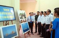 Exposition sur Hoàng Sa et Truong Sa à Thai Nguyen