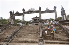 Le Mausolée de Khai Dinh, un melting-pot architectural