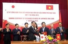 Le Japon accorde plus de 800 millions de dollars d'APD au Vietnam