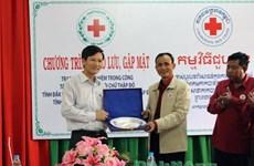 Dak Nong et Mondulkiri : promotion de la coopération entre les Croix-Rouge