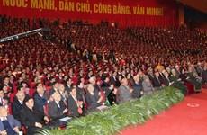 Le Vietnam félicité pour le 12e Congrès national du PCV