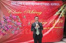 Diverses activités à l'étranger pour le Têt et le 12e Congrès national du PCV