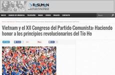 Le journal argentin Resumen Latinoamericano salue le Parti communiste du Vietnam