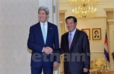 Le Cambodge et les États-Unis discutent de questions bilatérales