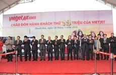 Vietjet accueille son 19.000.000e passager