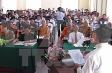 Rencontre des dignitaires religieux , Viet kieu et artisites à l'occasion du Têt lunaire
