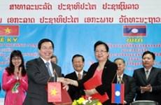 Préparation de l'application du nouvel accord de commerce Vietnam-Laos