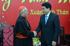 Hanoi : meilleurs voeux du Têt des organisations religieuses