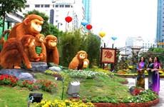 Têt : Ho Chi Minh-Ville inaugure la rue florale et celle des livres