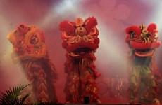 Delta du Mékong: ouverture du 1er tournoi de danse de la licorne