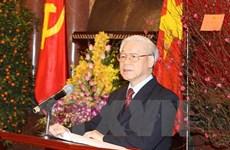 Répartition des membres au sein du Bureau politique du PCV