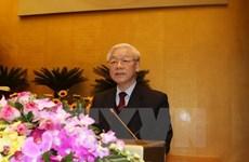 Félicitations au secrétaire général du PCV