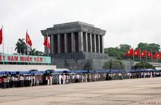 Têt : plus de 63.000 visiteurs au mausolée de Hô Chi Minh