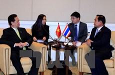 Des rencontres bilatérales avec la Thaïlande et l'Indonésie