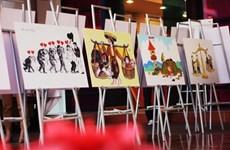 Remise des prix du concours de dessins satiriques sur l'égalité des sexes