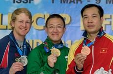 Du bronze pour le Vietnam à la Coupe du monde de tir en Thaïlande