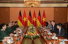 Vietnam-Allemagne : renforcement la coopération dans la défense