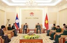 Consolidation de la solidarité spéciale Vietnam-Laos