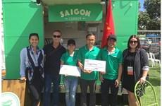 Un groupe vietnamien remporte le Food Truck Face