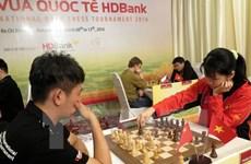 Le Vietnam se classe 5e lors du tournoi international d'échecs HDBank
