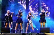 Le quatuor féminin Bond au concert Lexus 2016