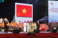 Programme d'échange culturel Japon - Vietnam à Hanoi