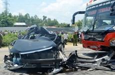 Les accidents de la route sont en baisse ce 1er trimestre