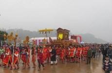 Ouverture de la fête de Tây Thiên 2016