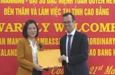 Assistance néo-zélandaise pour les ethnies minoritaires de Cao Bang