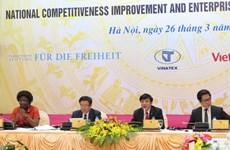 Améliorer la compétitivité nationale, rénover et développer les entreprises