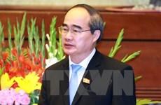 Le président du FPV reçoit le président de l'Association de soutien médical du Vietnam