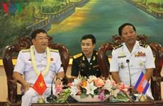Les Marines vietnamienne et cambodgienne renforcent leur coopération