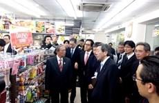 De grands distributeurs japonais au Vietnam