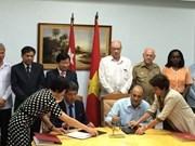 Une délégation du ministère de la Construction en visite à Cuba