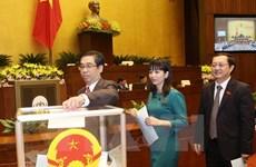 L'Assemblée nationale élit trois vice-Premiers ministres et 18 nouveaux ministres
