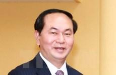 Les félicitations au président vietnamien continuent d'affluer